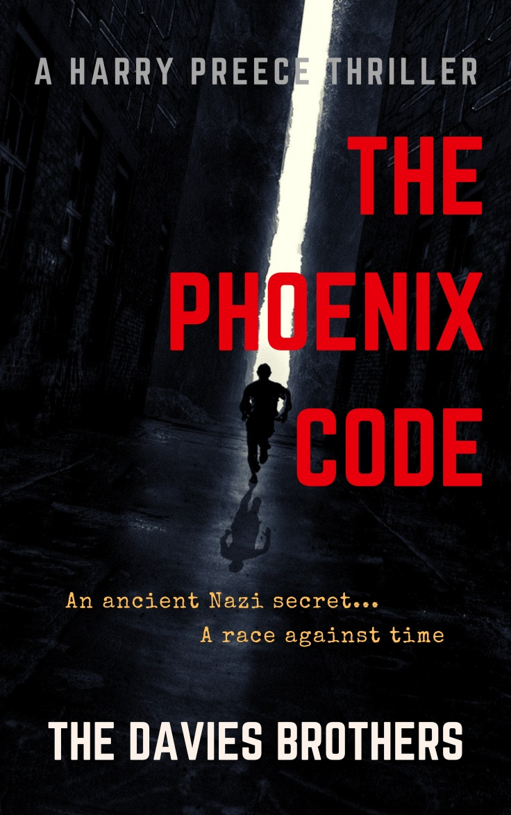 The Phoenix Code COVER (NEW high-def)